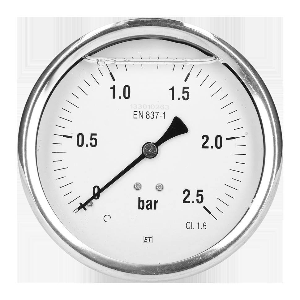 Diameter: 100 mm klasse 1.6