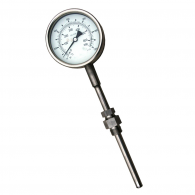 Analoge dieseluitlaat thermometer