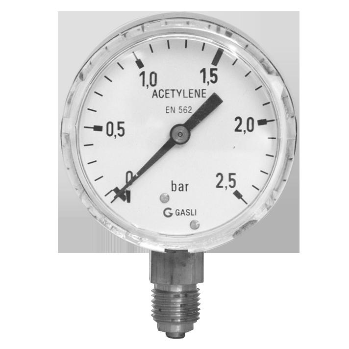 Acetyleen manometers