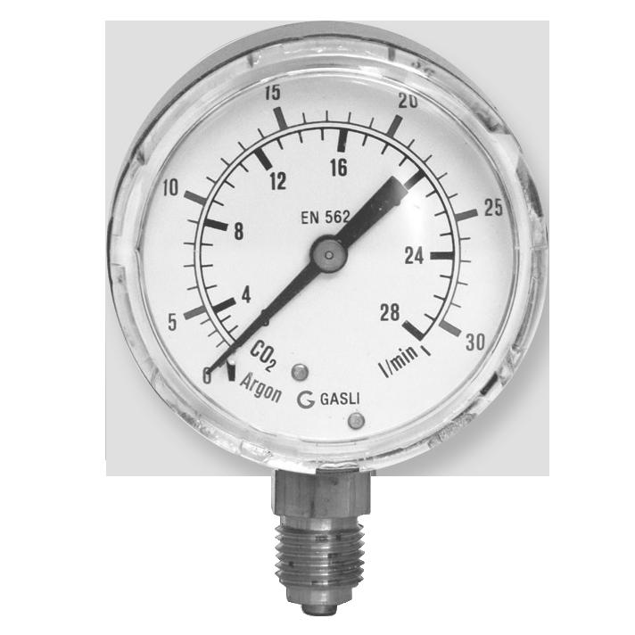 Argon / CO2 manometers