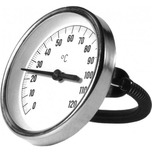 Buisklem thermometer