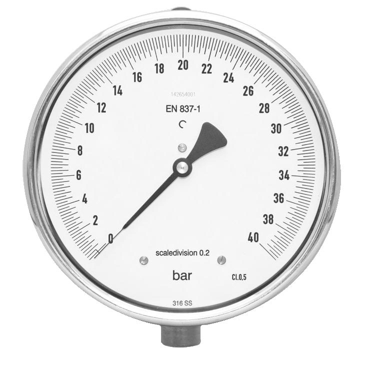 Precisie manometers